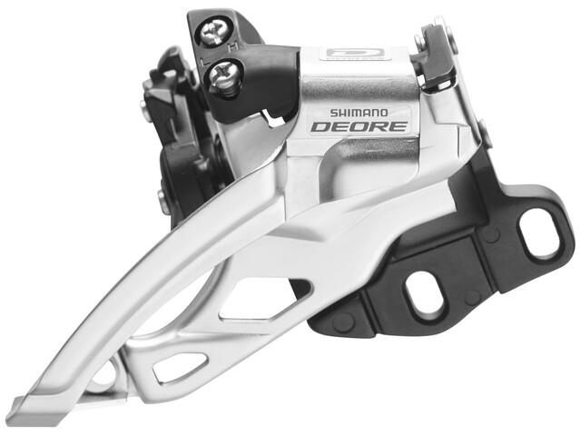 Shimano Deore FD-M615 Umwerfer Top Swing 2 x 10-fach schwarz